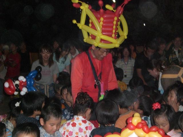 バルーンショーをご依頼いただいた福岡県前原市笹山幼稚園 様より