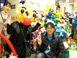 バルーン体験教室「福岡風船の会」福岡中央児童館