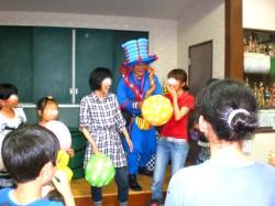 2010年6月福岡県福岡市 賀茂中子供会様からバルーンショーのご依頼をいたきました。