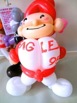 「ベースボールアニマル ブライダル・バルーン&バルーンアート」をご注文いただいた 東京都新宿区  K.M 様