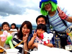 店長トーイはバルーンショーとバルーンプレゼンターをさせていただくために熊本県南阿蘇村に行ってきました