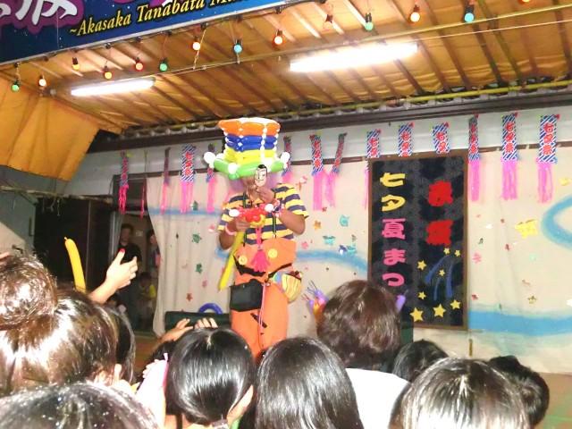 2014年8月福岡県筑後市「赤坂神社 七夕祭り」様からバルーンショーのご依頼をいただきました。