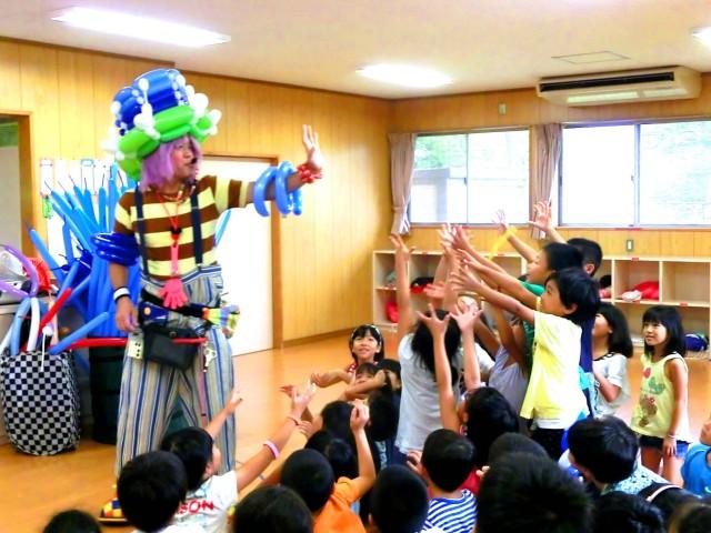 福岡県久留米市「宮の陣学童保育所」様からバルーンショーのご依頼をいたきました。
