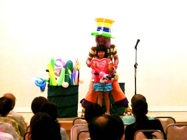 佐賀県鹿島市「割烹 清川」様からバルーンショーのご依頼をいたきました。