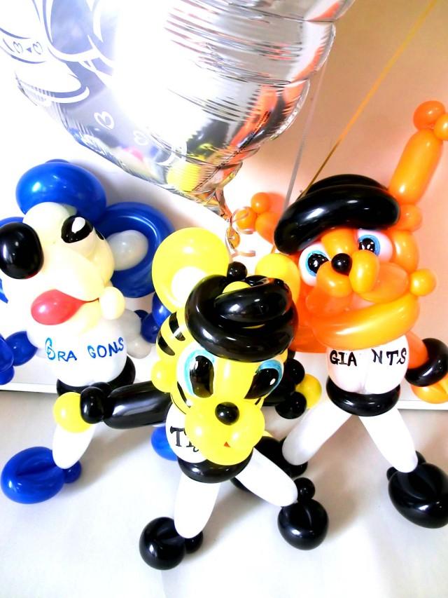 店長トーイの手作りバルーンアートの新作たちです。アレンジのリクエストする際にご参考にしてくださいませ。