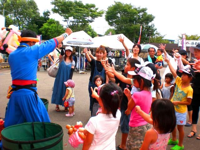 2010年 9月 佐賀県伊万里市 「ふるさと村」 様からバルーンショーのご依頼をいただきました。