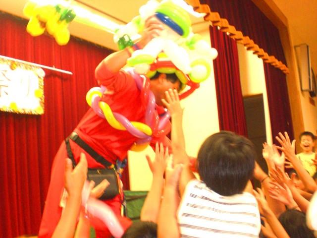 2010年 9月 福岡県八女市 「吉常秋祭り」 様からバルーンショーのご依頼をいただきました。