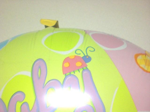 出産お祝「ベイビーシャワー ミニ」バルーンギフトにメッセージカードを添えれば素敵なバルーン電報になります。
