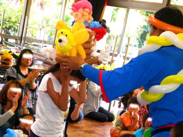 2010年5月福岡県福岡市室見団地 子供会様からバルーンショーのご依頼をいたきました。