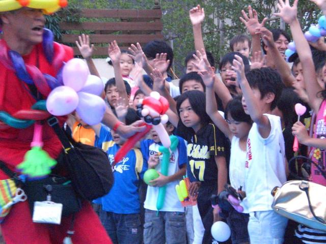 福岡市 アートヒルズ青葉4丁目 自治会様からバルーンショーのご依頼をいただきました。