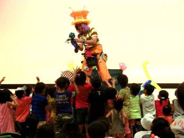2012年9月広島県呉市「チャイルドフェスタinくれ」様からバルーンショーのご依頼をいたきました。