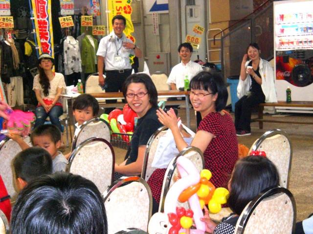2011年6月 「日本食研」様からバルーンショーのご依頼をいただきました。