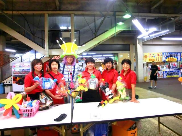 2012年8月福岡県直方市 「びっくり市」 様からバルーンショー&プレゼンター のご依頼をいたきました。