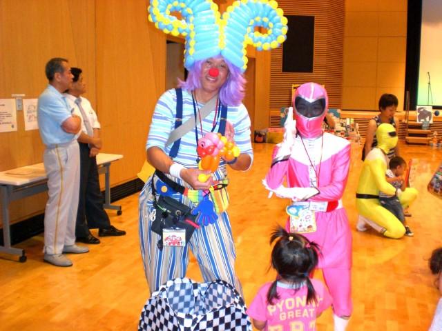 広島県呉市の子育てイベント「チャイルドフェスタinくれ」様からバルーンショーのご依頼をいただきました。