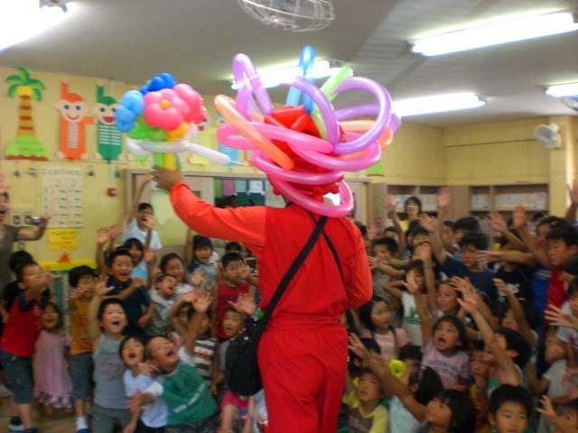 バルーンショーをご依頼いただいた福岡県飯塚市飯塚東学童クラブ 様