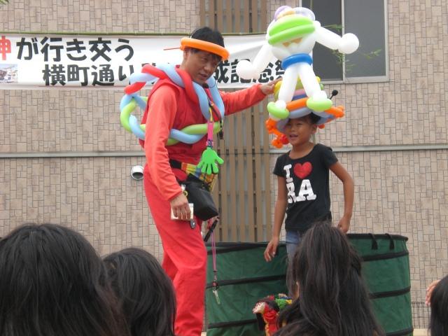 2010年10月 大分県宇佐市 「西本願寺」様からバルーンショーのご依頼をいただきました。