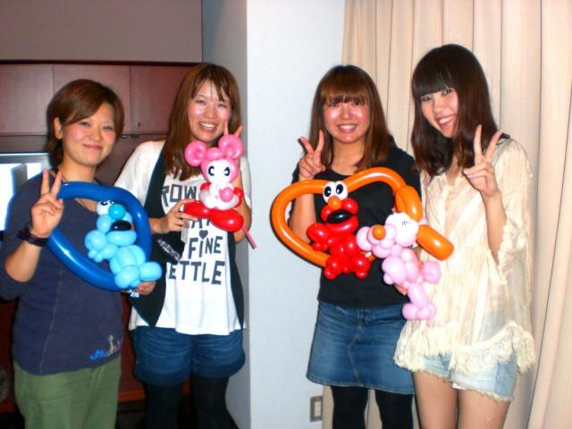 福岡県、佐賀県で当店自社便にてバルーンをお届けしたお客様