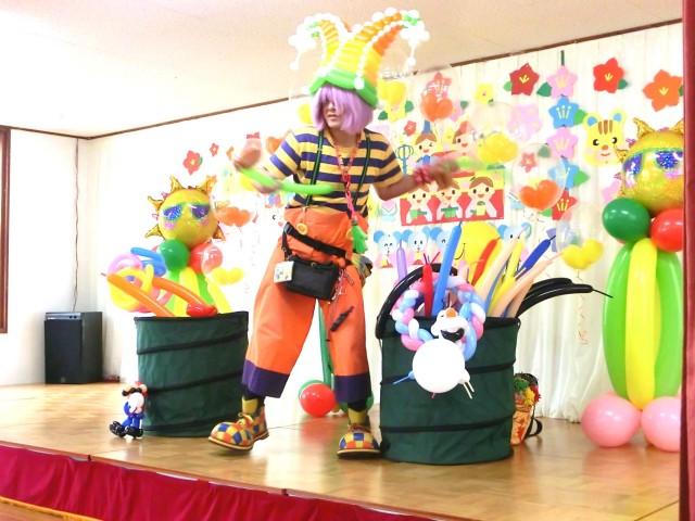 2015年3月 福岡県久留米市「国分幼稚園」様からバルーンショーのご依頼をいただきました。