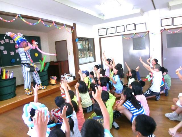 2015年5月 賀茂中子供会様からバルーンショーのご依頼をいただきました。