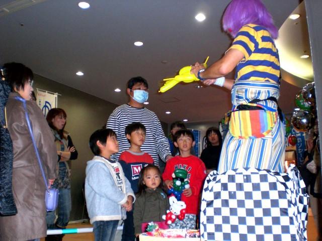 福岡県福岡市の福岡タワー「LPガスセーフティーフェア2009」バルーンプレゼンターのご依頼