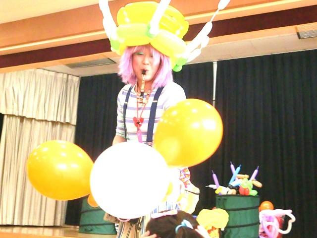 2013年 3月 福岡県久留米市 「葉山子供会」 様からバルーンショー&バルーン教室のご依頼をいただきました。