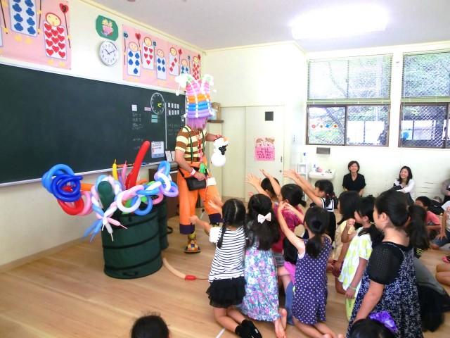 福岡県福岡市 M小学校「留守家庭子ども会」様からバルーンショーとバルーン教室のご依頼をいただきました。