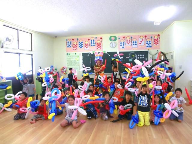 福岡市立M小学校「留守家庭子ども会」様からバルーンショーとバルーン教室のご依頼をいただきました。