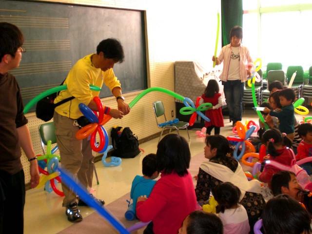 2009年4月2日「福岡風船の会」バルーン教室