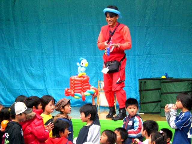 2009年のバルーンパフォーマンス 福岡県福岡市早良区「田友会」様からバルーンショーのご依頼をいただきました。
