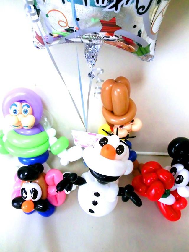 「アナと雪の女王 バルーン&バルーンアート」を愛の告白、お誕生日、バレンタインデー、ホワイトデーにいかがですか。