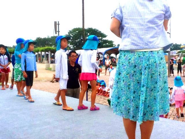 2012年7月福岡県福岡市 海の中道サンシャインプール様からオープニングイベントのご依頼をいただきました。