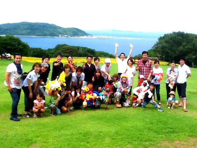 2012年 7月 福岡県福岡市「アクサ生命」 様からバルーンショーのご依頼をいただきました。