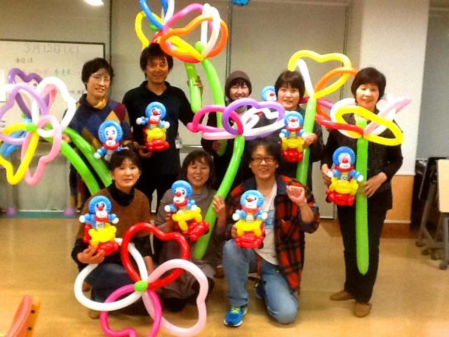 2013年3月/バルーンアートサークル「ドリーム」のご紹介