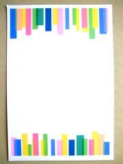 当店のメッセージカート゛のデザインです。カードデザインは約10種類のなかから当店のおまかせとなります。