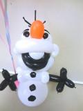 愛の告白、お誕生日「アナと雪の女王 バルーン&バルーンアート」素敵なバルーン電報になります。