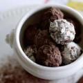 ベルギー王国のこだわり職人イヴァン・メルクス氏監修のなめらかな口どけのチョコレート「ソフト・トリュフ」4個入り